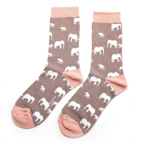 GREY ELEPHANT SOCKS